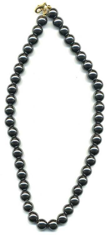 1083-collier-hematite-boule-10-mm