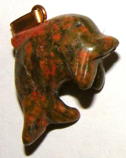 853-pendentif-dauphin-unakite