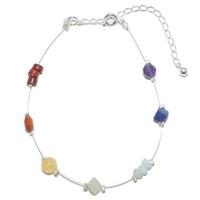 Bracelet 7 Chakras sur fil