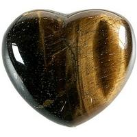 Coeur en Oeil de tigre de 45 mm