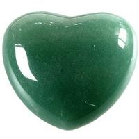 Coeur en Aventurine de 45 mm