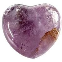 Coeur en Améthyste de 45 mm