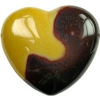 Coeur en Mokaïte de 45 mm