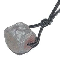 Pendentif Hématite brute avec cordon