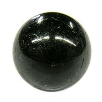 Boule de massage en Tourmaline noire de 2 cm