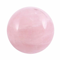 Boule de massage en Quartz rose de 2 cm
