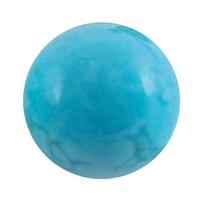 Boule de massage en Howlite turquoise de 2 cm