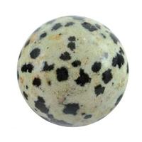 Boule de massage en Jaspe dalmatien de 2 cm