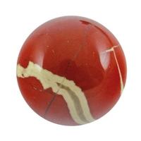 Boule de massage en Jaspe rouge de 2 cm