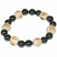 Bracelet Perles de karma Kids en Hématite