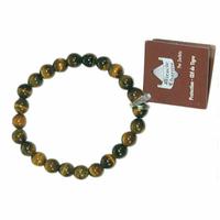 Bracelet Miracle Charms en Oeil de tigre