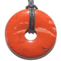 Pi-chinois Jaspe rouge 40 mm