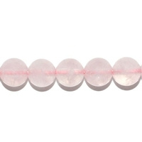 Perle en Quartz rose boule 8 mm EXTRA