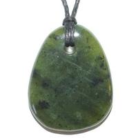 Pendentif Jade néphrite avec cordon Flash
