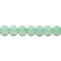 Perle en Aventurine verte boule 4 mm - Lot de 10 pièces