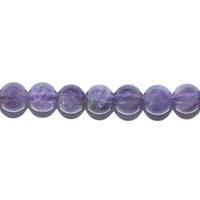 Perle en Améthyste boule 4 mm
