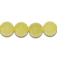 Perle en Jade Citron boule 10 mm