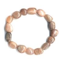 Bracelet pierres roulées en Pierre de lune