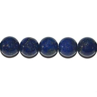 Perle en Lapis lazuli boule 8 mm
