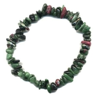 Bracelet baroque Rubis sur Zoïsite