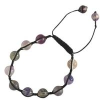 Bracelet Shamballa Fluorine 8 mm