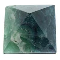 pyramide en fluorite 40x40mm