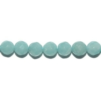 Perle en Amazonite facettée boule 4 mm
