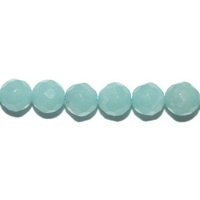 Perle en Amazonite facettée boule 6 mm