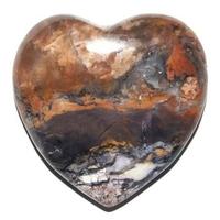 Tiffany Stone en forme de coeur 40x40 mm