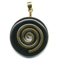 Support en argent doré en forme de spirale pour Pi-Chinois