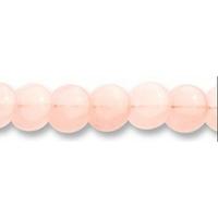 Disque en quartz rose mat de 12 mm