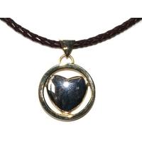 Collier coeur magnétique