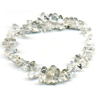 Bracelet baroque cristal de roche EXTRA