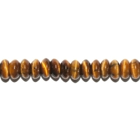 String Button en Oeil de Tigre foré en 4x4 mm