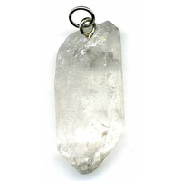 Cristal de roche Brute en Pendentif XL