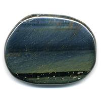 Mini pierre plate en Oeil de Faucon