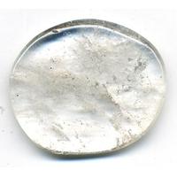Mini pierre plate cristal de roche