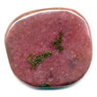 Mini pierre plate en Rhodonite