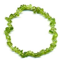 Bracelet baroque Péridot / Olivine