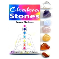 Assortiment de 7 Pierres 7 Chakras.