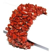 Bracelet Baroque XL en Jaspe rouge