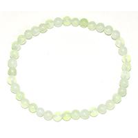 Bracelet en jade boules 4mm