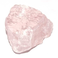Quartz rose brute 30 à 40mm de Madagascar Extra - Lot de 3