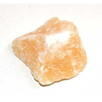 Calcite orange brute 20 à 30 mm