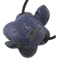 Collier Sodalite tortue