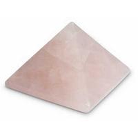 pyramide en quartz rose 30 x 30 mm