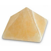pyramide en Calcite orange 30 x 30 mm