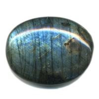 Labradorite pierre plate Maxi de 35 à 45 mm (Spectrolite)