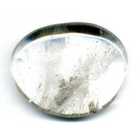 Pierre plate en Cristal de roche