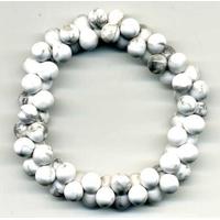 Bracelet ADN en Howlite